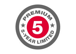 Premium 5 Year Limited Warranty