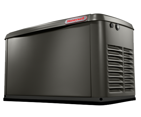 Honeywell 20kw Home Backup Generator Front