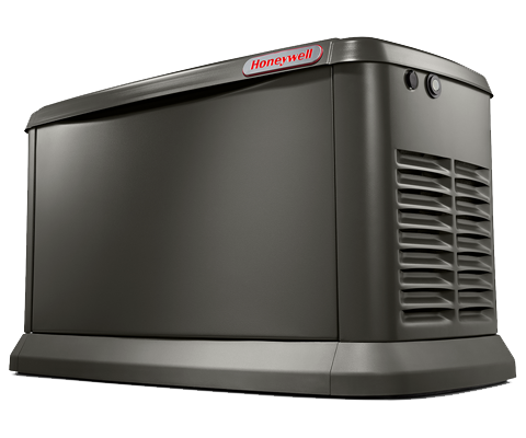 Honeywell 22kw Home Backup Generator Front